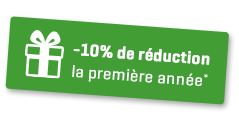 10% réduction