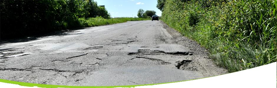 L'autoroute pourrait devenir obligatoire pour les motards AUTO_Auto_LC_Schade_schade%20slecht%20wegdek